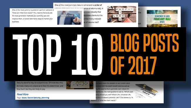 Top 10 Advisors' Resource Blog Posts This Year